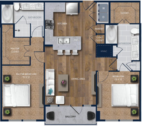 2 bedroom west houston apartments
