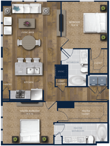 two bedroom west houston apartments